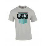 Let's Go Back Chicago T-shirt : Ice Grey